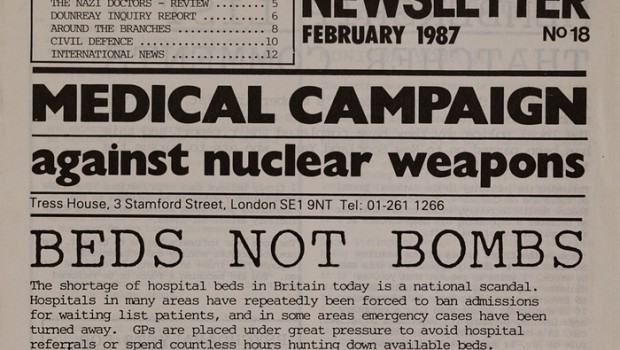 Beds not bombs