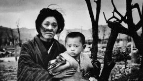 Hiroshima mother and child