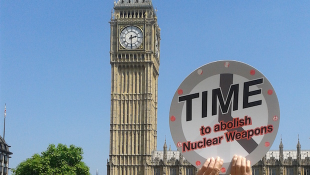 Time to abolish nuclear weapons
